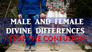Bible Male And Female Divine Differences