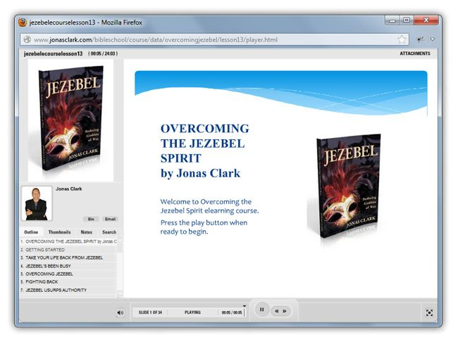 A E I  Overcoming The Jezebel Spirit eLearning Course