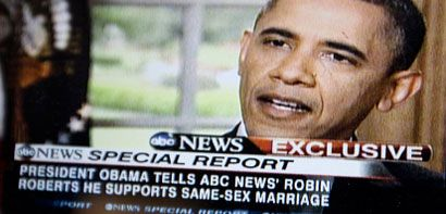 Obama: I think same-sex couples should be able to get married.