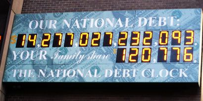 National Debt Causes Bad Things To Happen