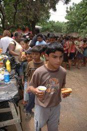 Feeding the Hungry and Poor